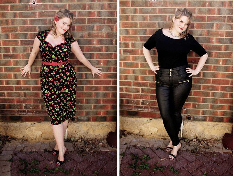 f34706f76753 This is Meagan Kerr  Inbetweenie Fashion Bloggers    Katie (size 14 ...