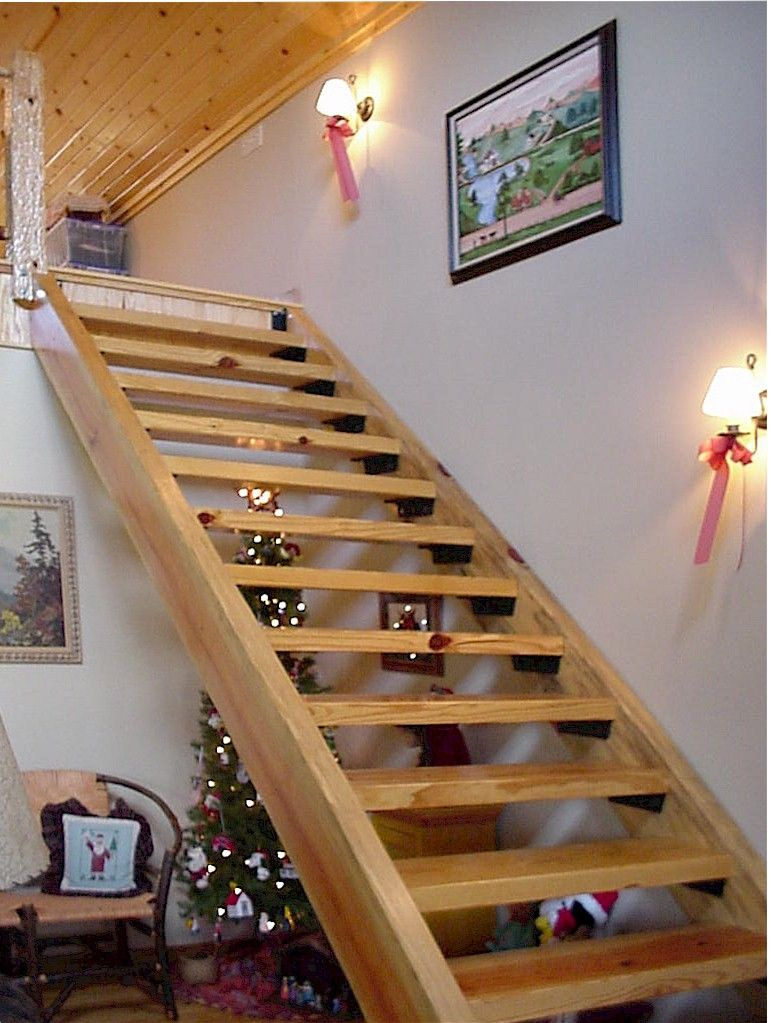 Interior Design Ideas Interior Designs Home Design Ideas Simple   Wooden Stairs Design For Small Spaces   Apartment   Cabinet   2Nd Floor Small Terrace Concrete   Residential   Outdoor