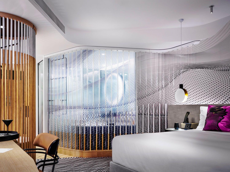 W Hotel Brisbane By Nic Graham Associates Hotel Room Design W