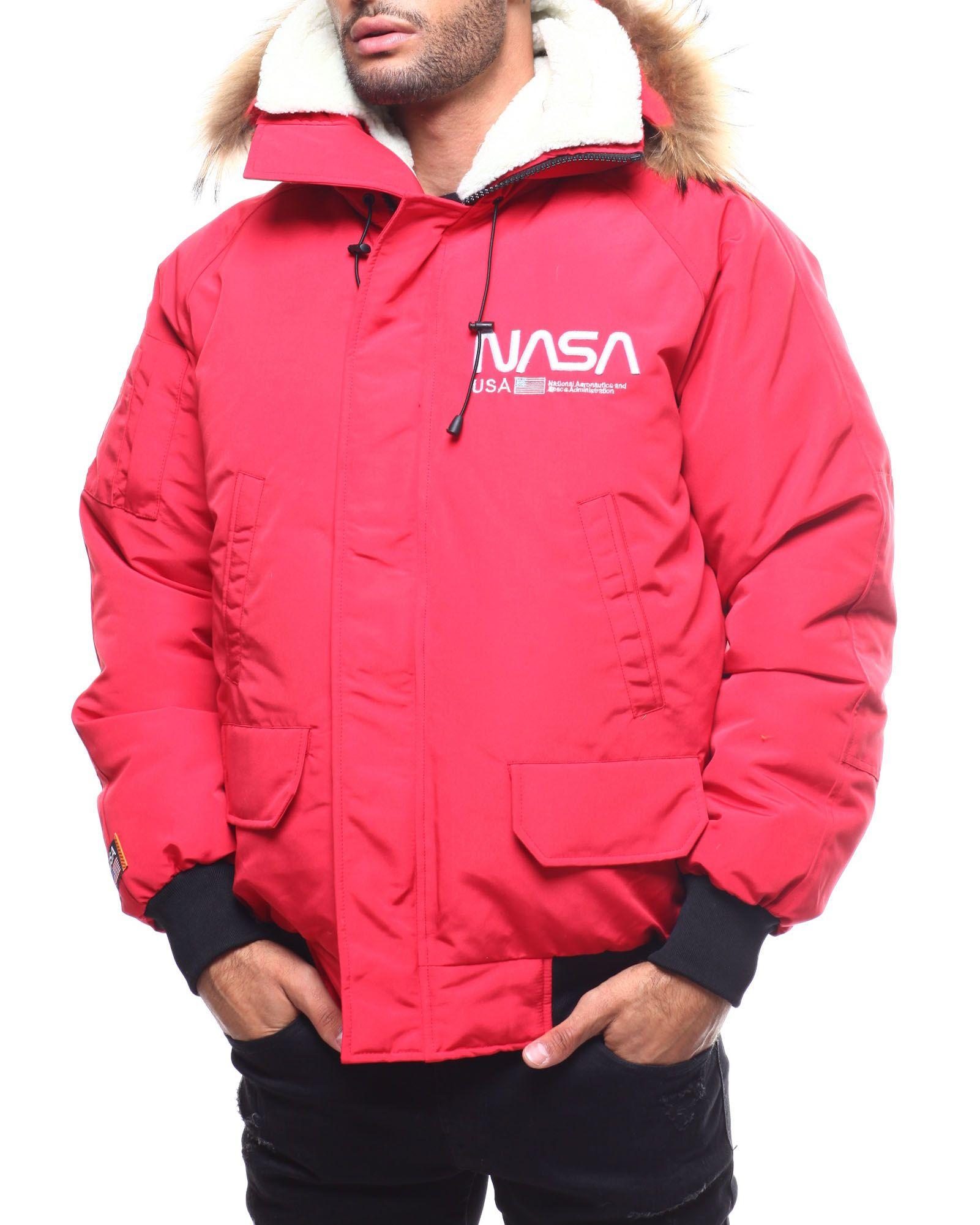 Nasa Fur Hood Bomber Jacket From Hudson Nyc At Drjays Com Bomber Jacket Mens Jackets Mens Jackets [ 2001 x 1601 Pixel ]