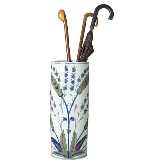 Umbrella Stand Blue And White: Hall, Porcelain And Foyers