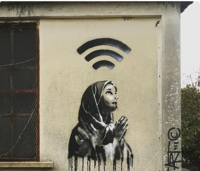 Pray Fi Street Rebell Pinterest Street Art Street Art
