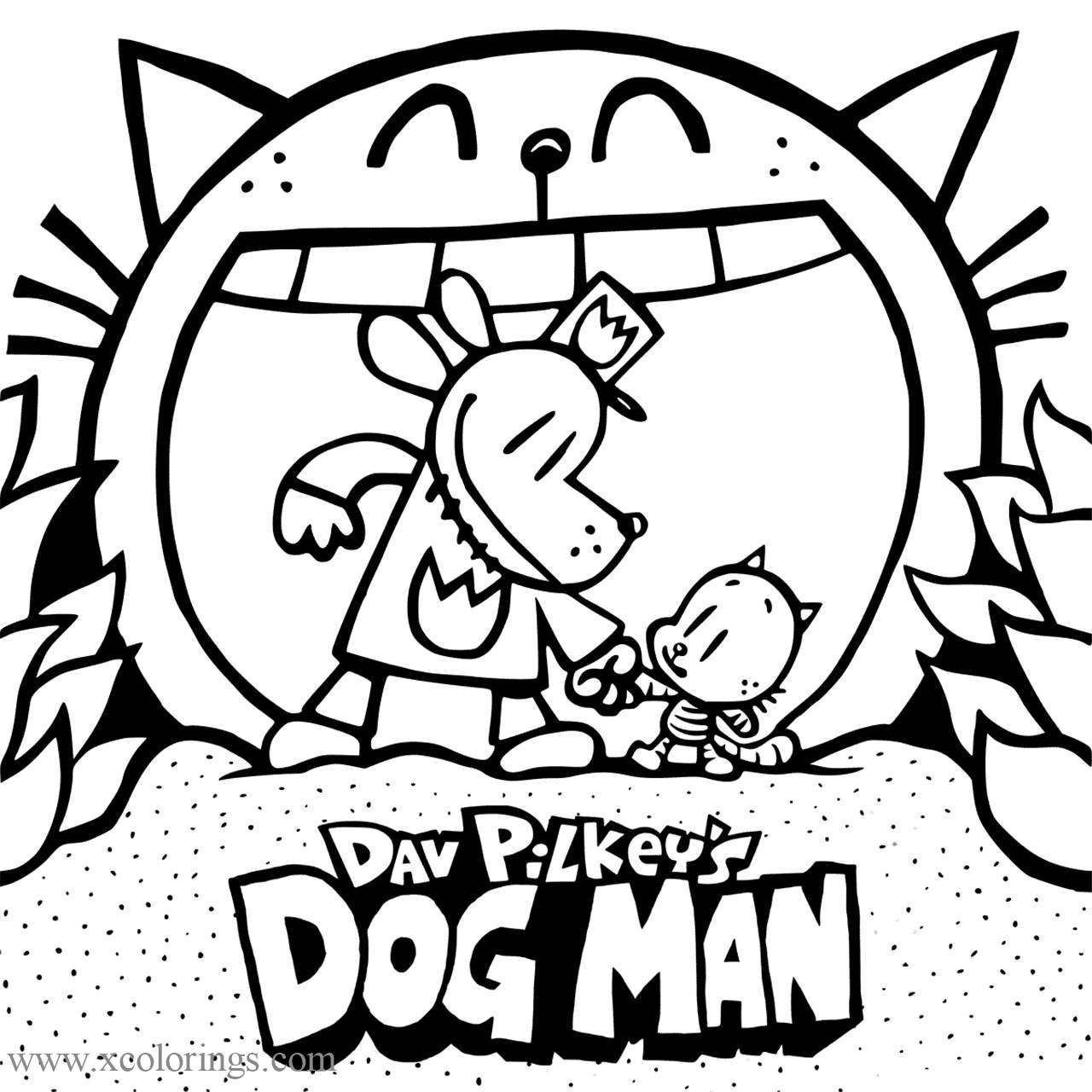 Dogman Coloring Pages For Kids Coloring Pages Coloring Pages For Kids Color