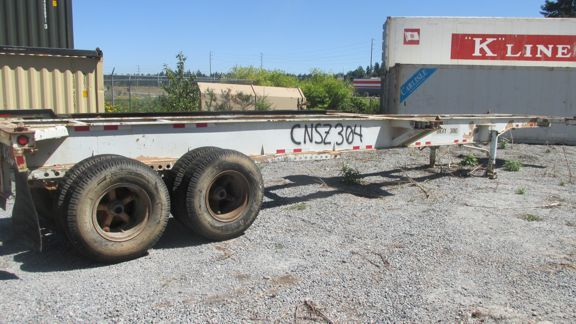 Container Trailer Chassis For Sale