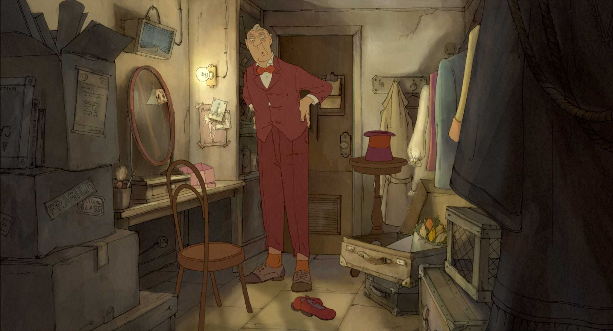 sylvain chomet art Google Search The illusionist