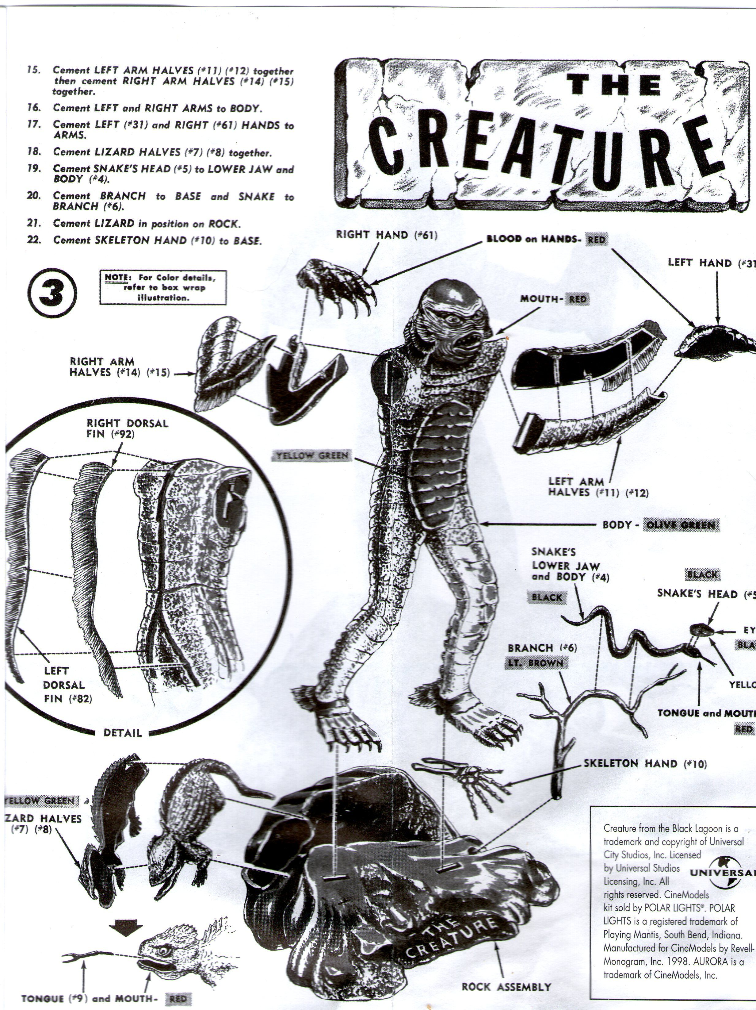 These Are The Instructions To My Aurora The Creature