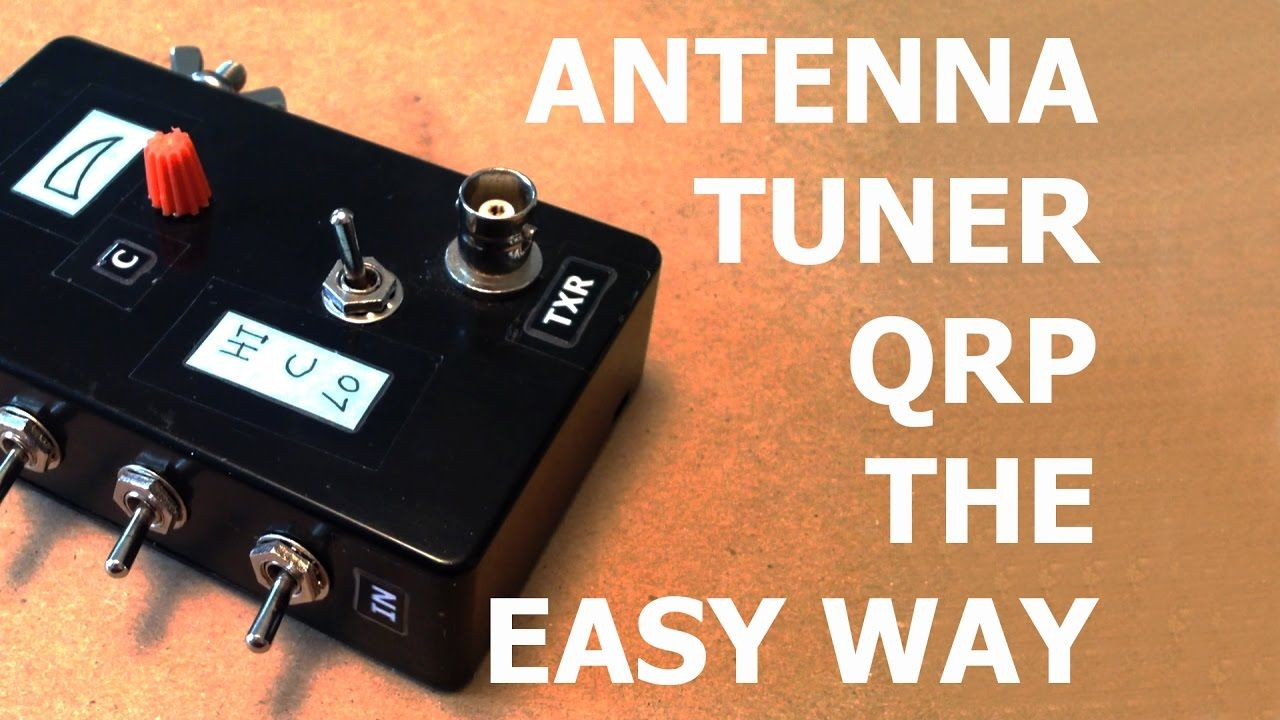 Compact QRP Antenna Tuner, the easy way    - YouTube