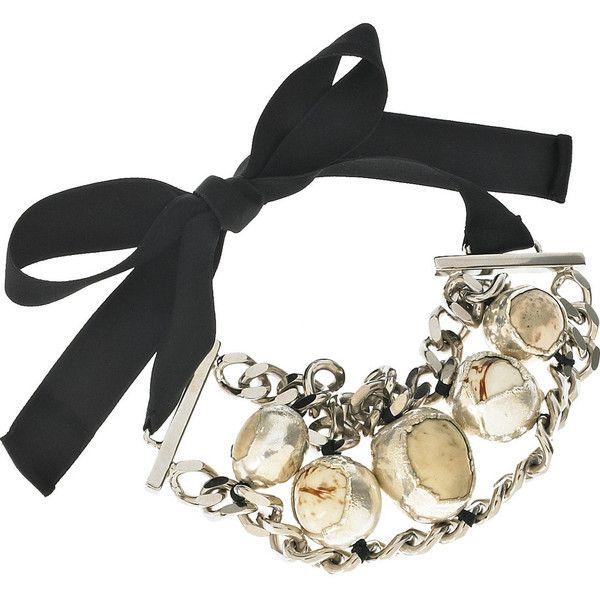Marni Petal-embellished chain necklace