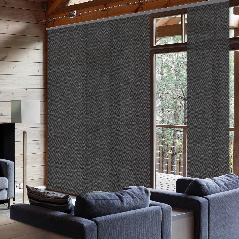 Panneau Japonais Chevrons Gris H 250 X L 50 Cm Panneau Japonais Decoration Maison Chevron Gris