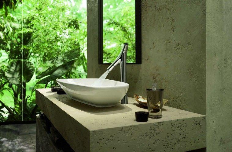 badkamer strak   Organisch design in je badkamer: de kranen van ...
