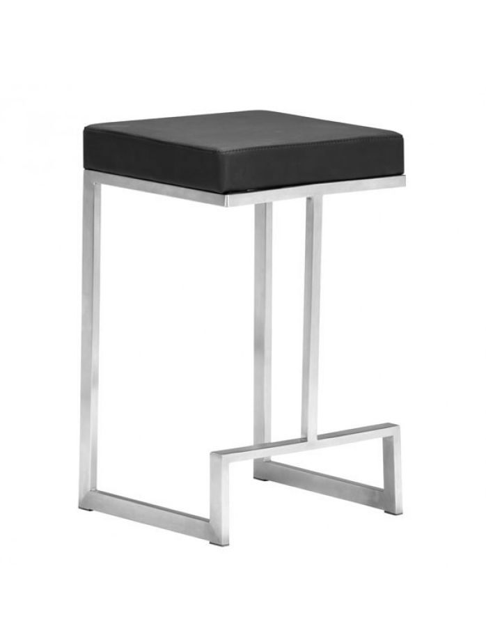 Darwin Counter Stool Black Counter Chairs Counter Stools Zuo Modern