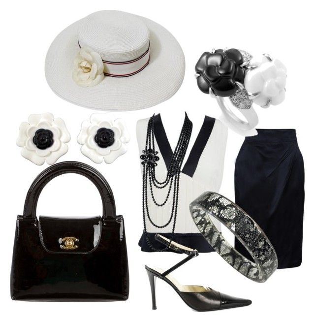"""Mademoiselle C."" by irma-silvano on Polyvore featuring moda e Chanel"