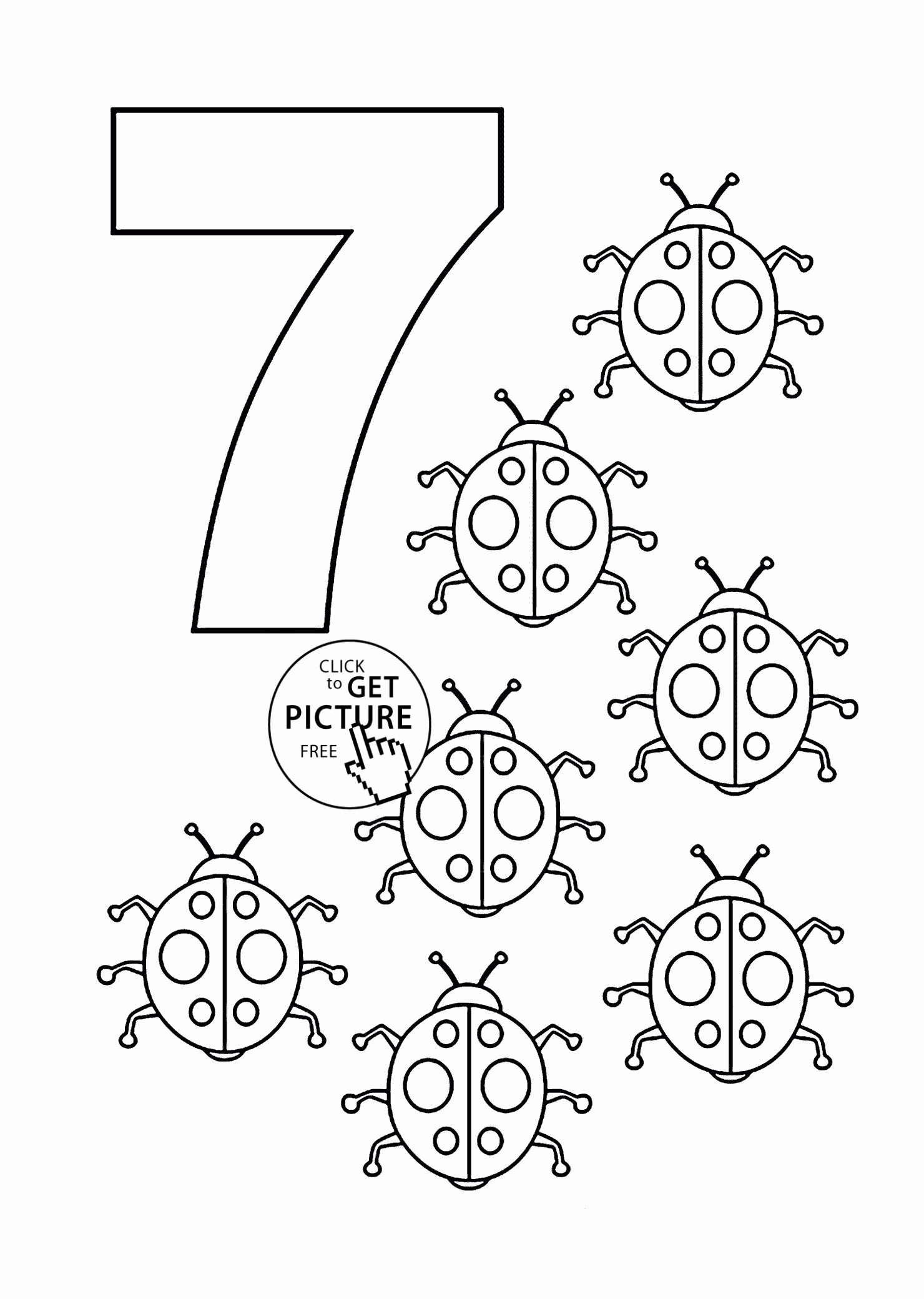 Pre K Coloring Pages Free In