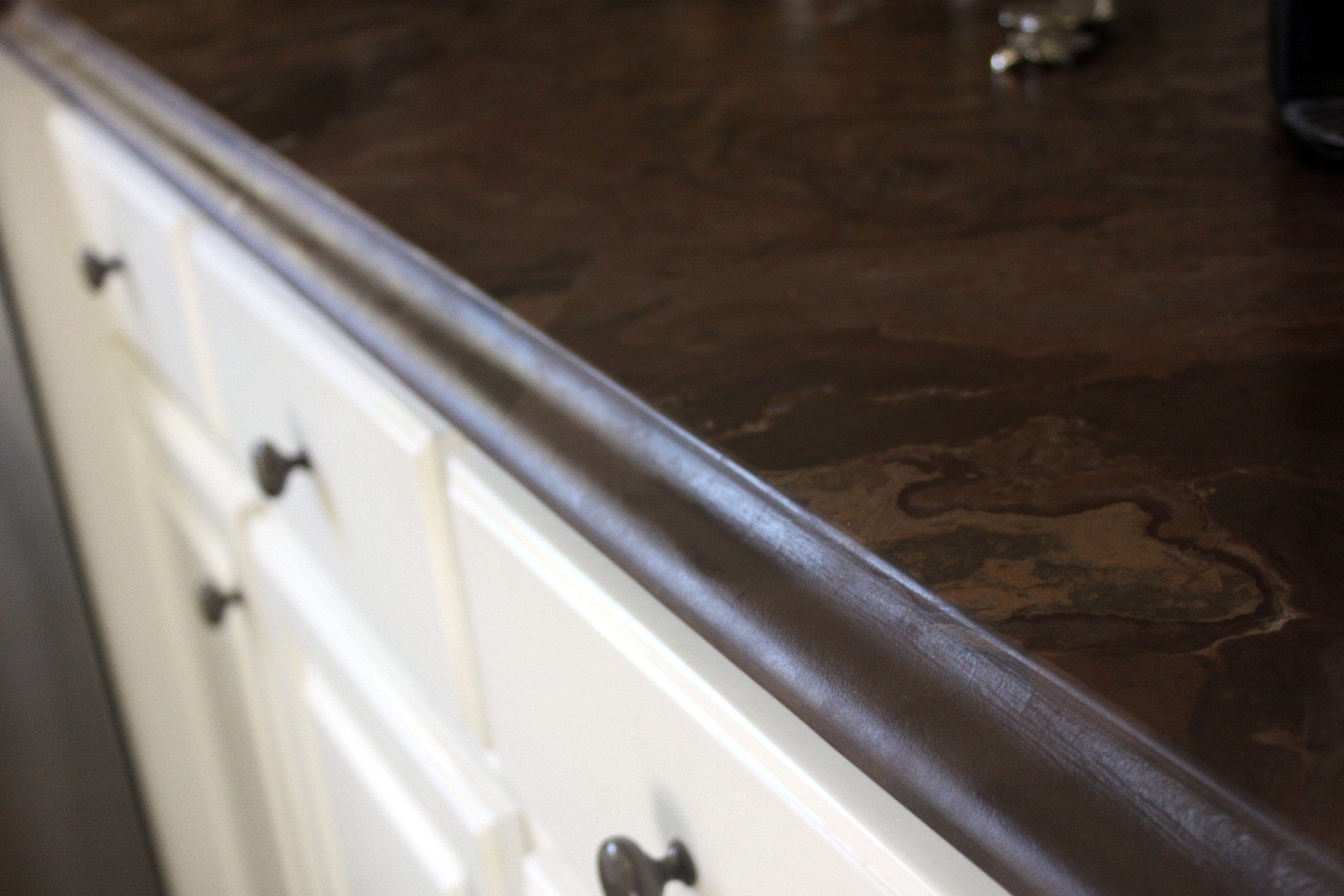Mocha Granite Leathered With Ogee Edge #SuperiorGranite #Granite # GraniteCountertops #Pensacola #Florida