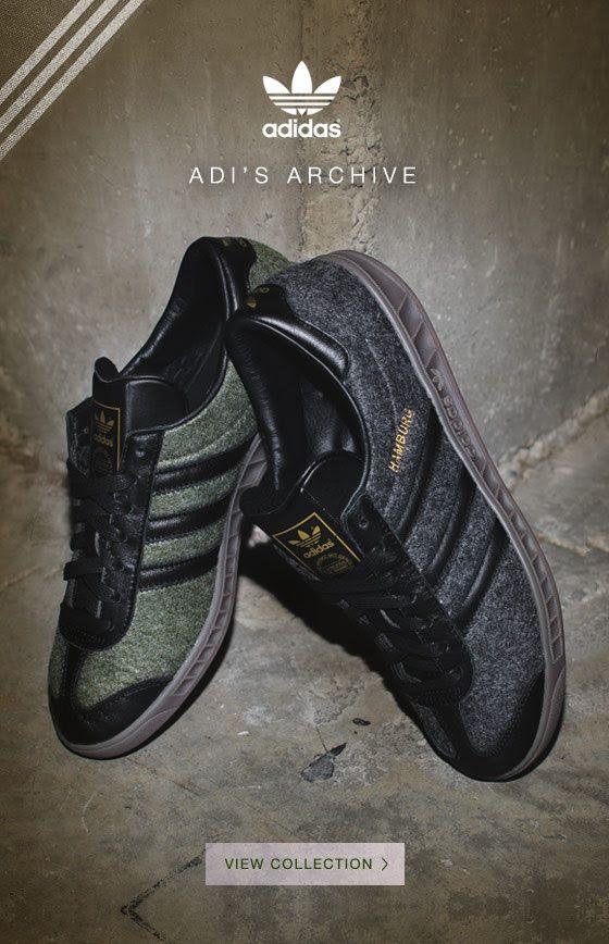 size 40 8ea65 f52ac adidas Originals Hamburg Wool Pack