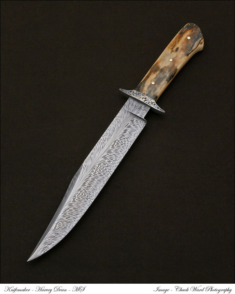 Harvey Dean (*Very* interesting Damascus)