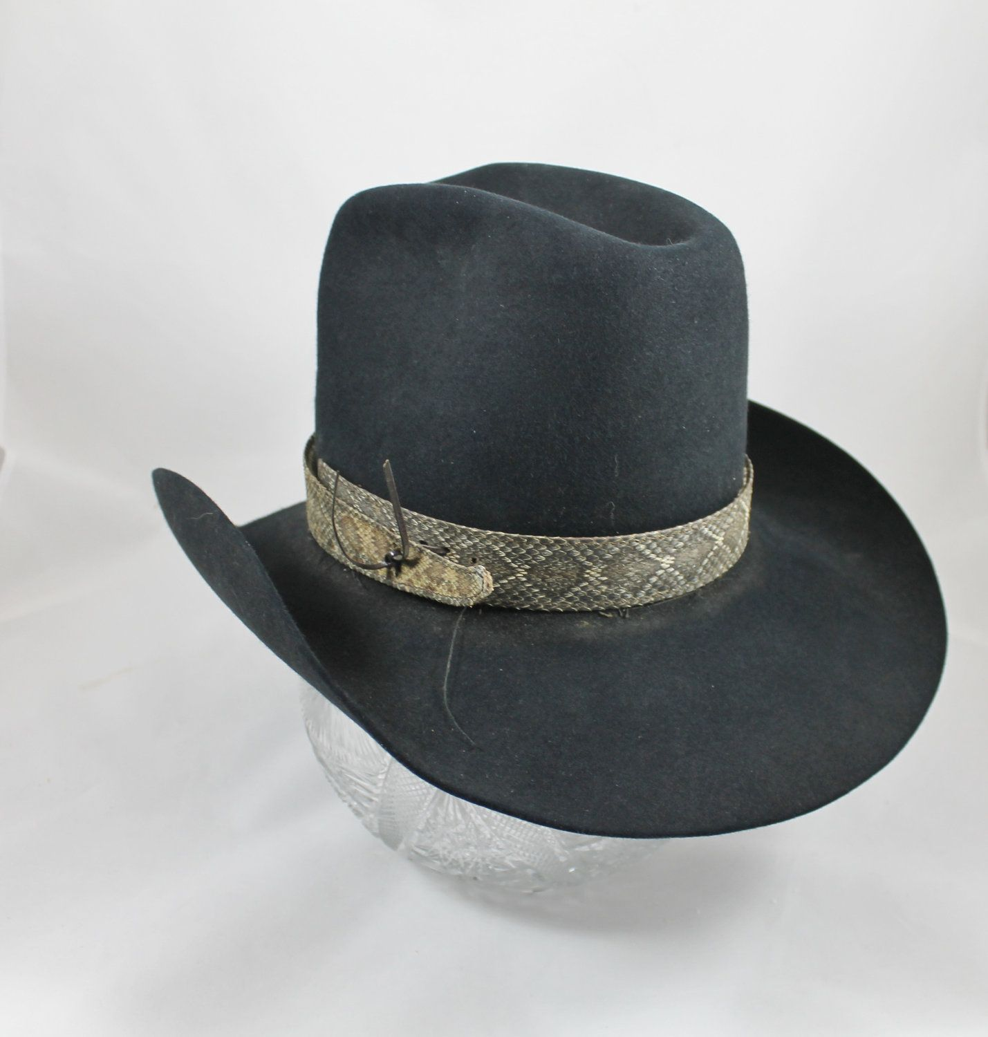 d9bd65e0b89db Reserved for IS - Vintage cowboy hat Miller country western