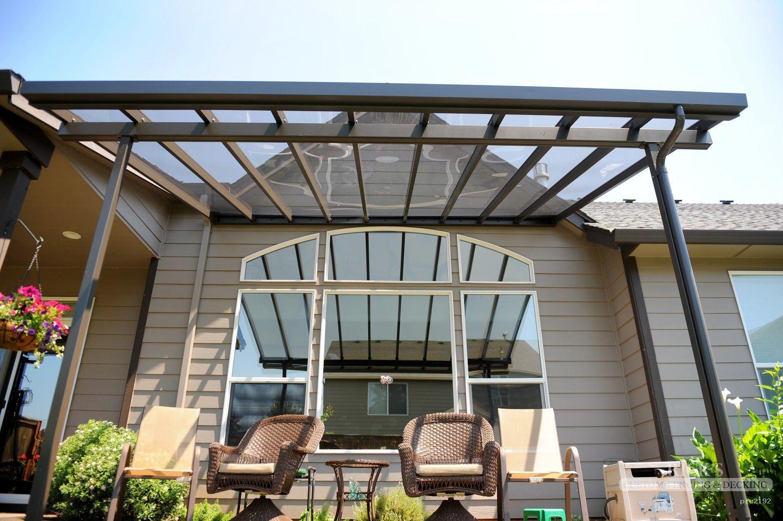 Aluminum patio covers & aluminum patio cover kits at ... on Patio Cover Ideas Uk id=53679