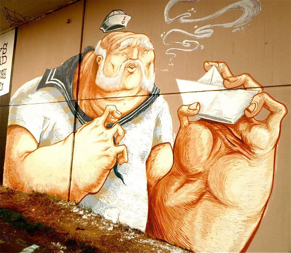 CONE (The Weird) at Saarbrücken | Street art | Pinterest | Street ...