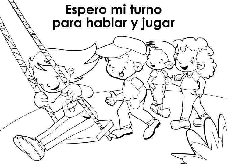 La Tolerancia Dibujos Para Colorear Dibujos Para Dibujar Dibujos De Los Valores Honestidad Para Ninos Educar En Valores
