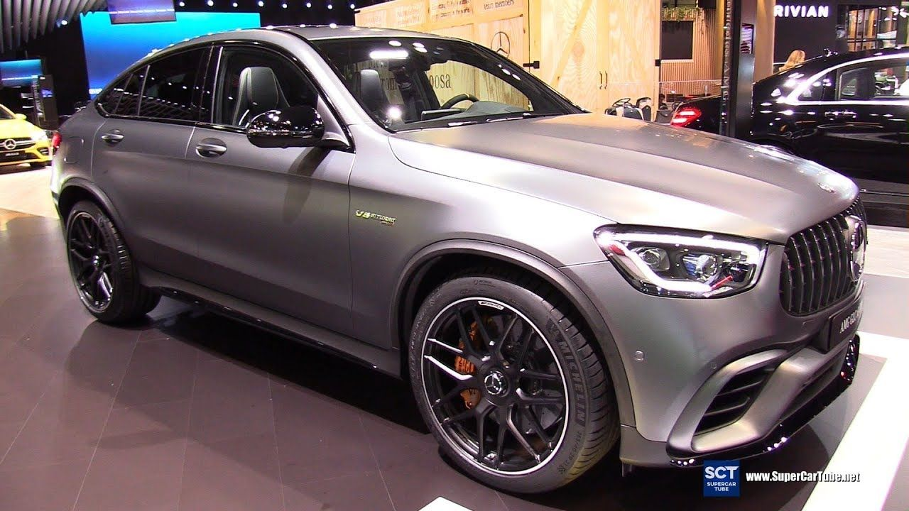 2020 Mercedes Amg Glc Class Glc 63 Coupe Exterior Interior