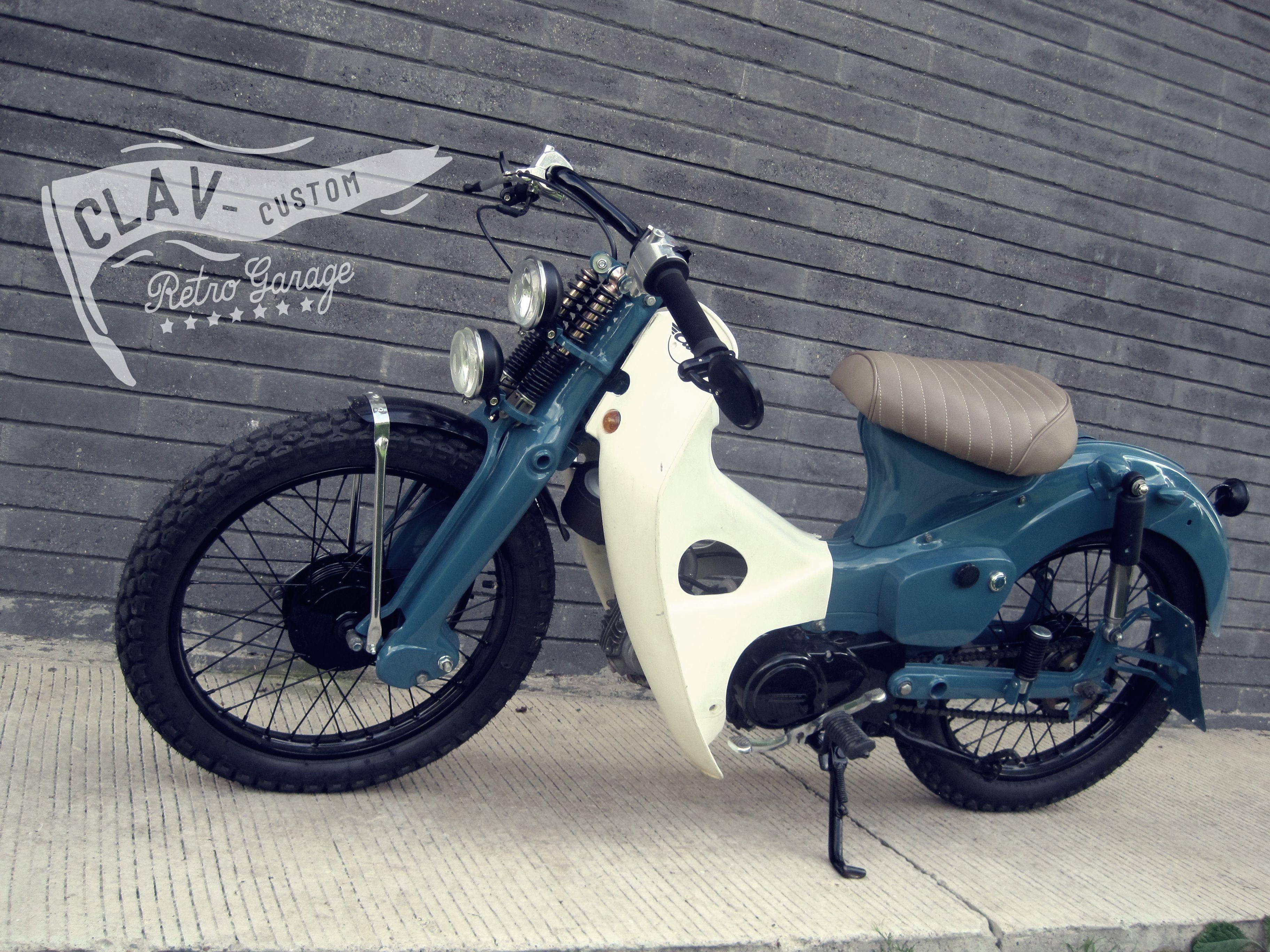 Modifikasi ICub Honda Street Cub 70 Honda C70 T
