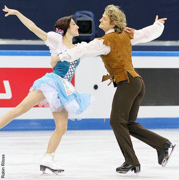 Meryl Davis & Charlie White (USA)  GPF2012 Sochi RUSSIA