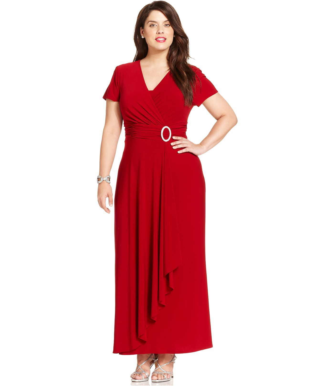 Red Party Dresses Plus Size - Ocodea.com