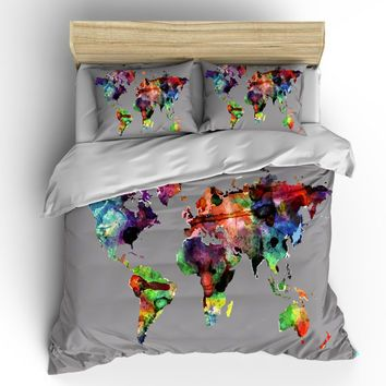 california king duvet comforter bedspread antique globe world map google search