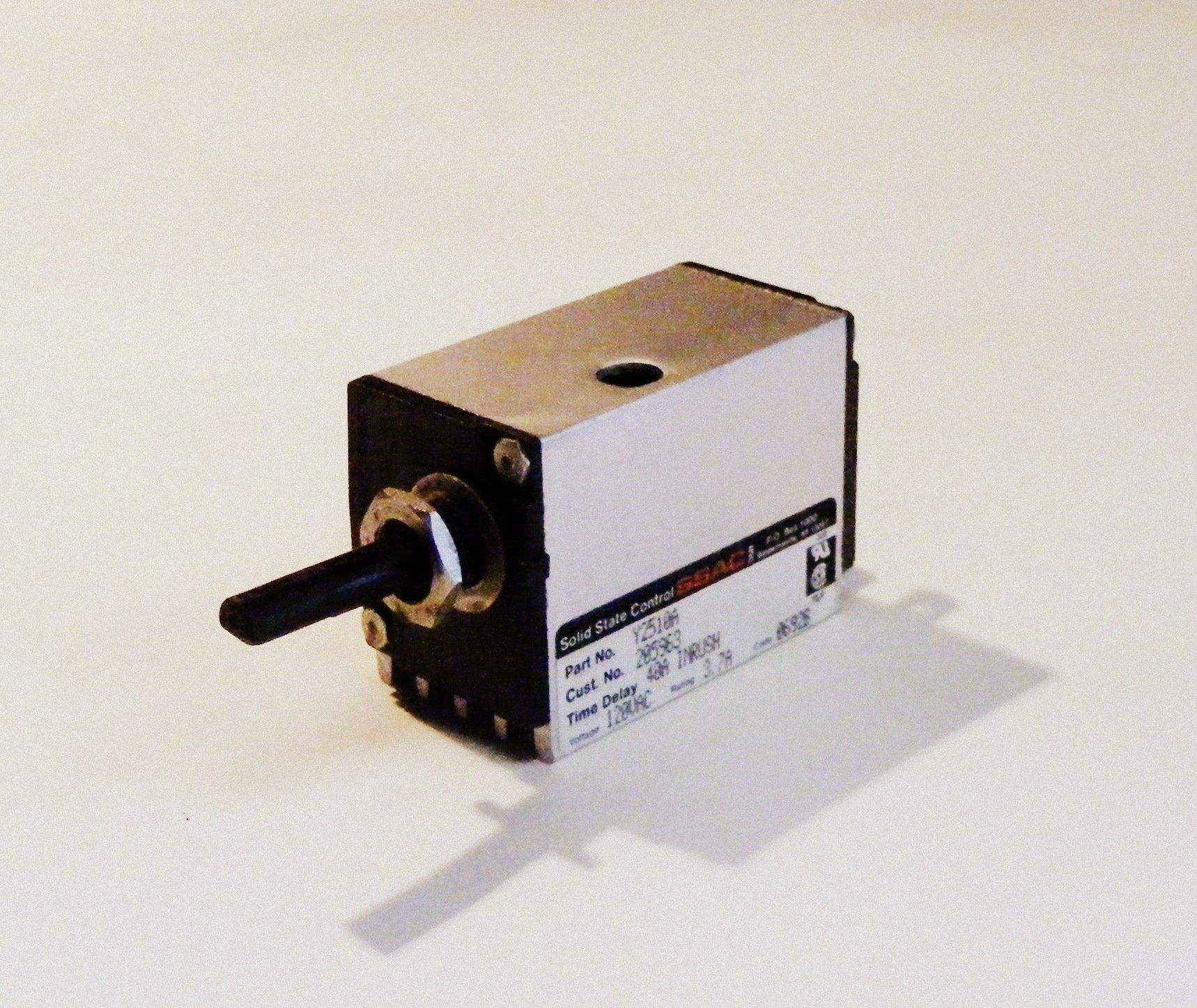 Y2510A 205963 Jenn Air CM200 Range Fan Motor Rotary Switch