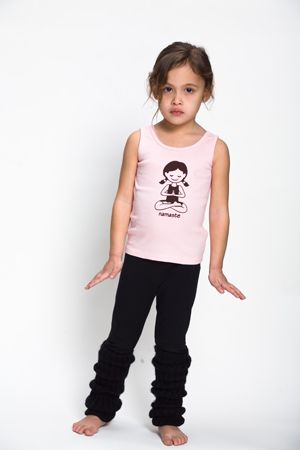 Yoga clothes for kids