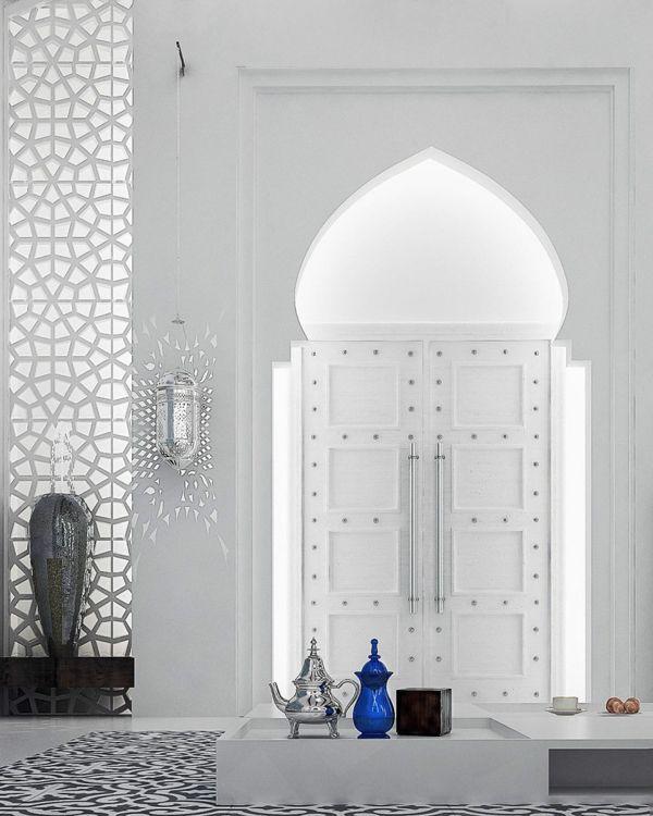 Wohnideen Schlafzimmer Orientalisch: Orientalische Ornamente Und Skandinavischer Stil In Einer