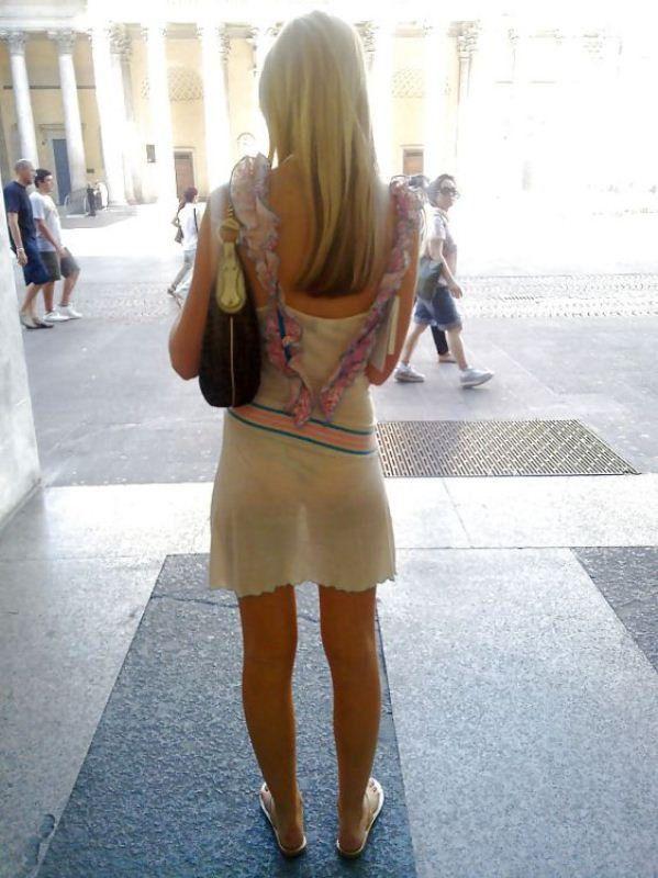 calidad estable Venta de liquidación comprar popular Las chicas más atrevidas con vestidos super transparentes ...