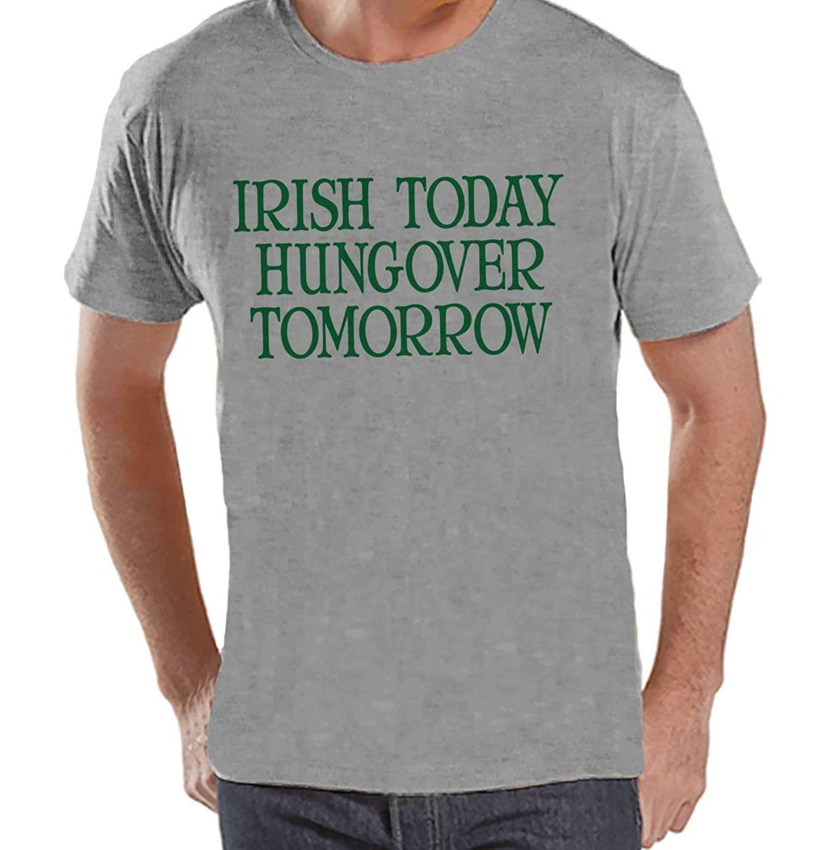 Custom Party Shop Men's Irish Today St. Patrick's Day T