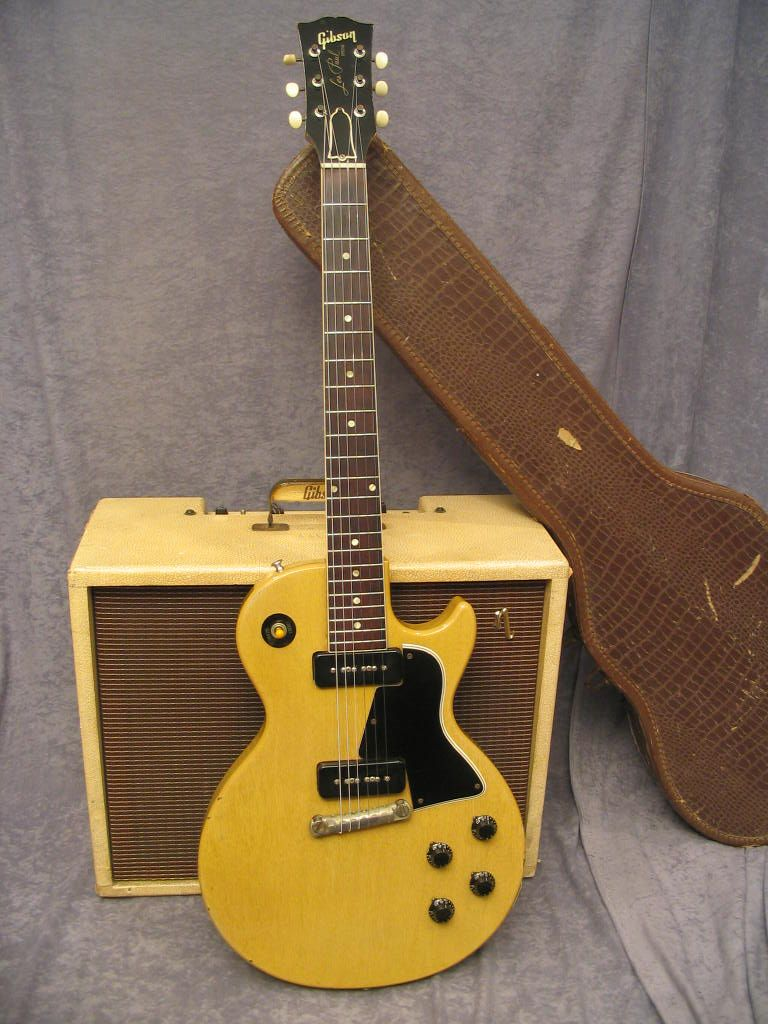 This Les Paul Special Single Cutaway Model Is Like The Guitar That Home Electrics Rare Finds Used Vintage Hofner 463 S E3 Archtop Johnny Thunders Of New York Dolls Playing On Cover Too Much Soon