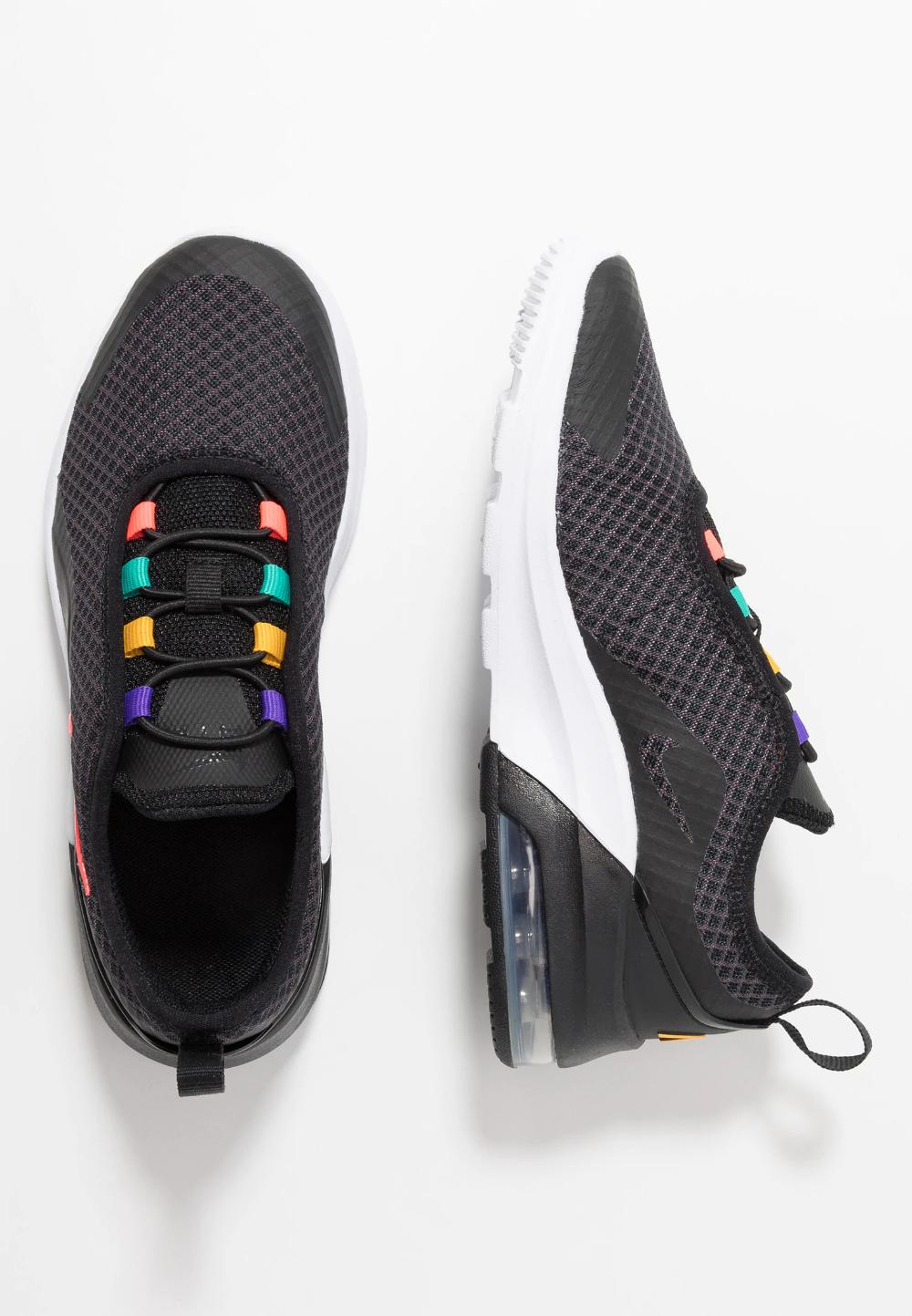 Nike Sportswear AIR MAX MOTION 2 Półbuty wsuwane black