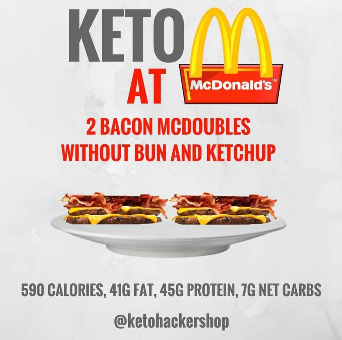 Tips And Tricks To Encourage Better Nutrition: Keto At McDonalds. Keto Restaurant Hacks. Keto Tips And