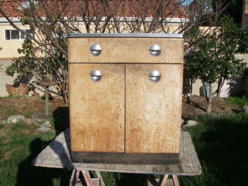 Vintage HomArt Metal Kitchen Cabinet Setof 6 Sears Retro Deco Industrial  Restore | EBay. Maybe