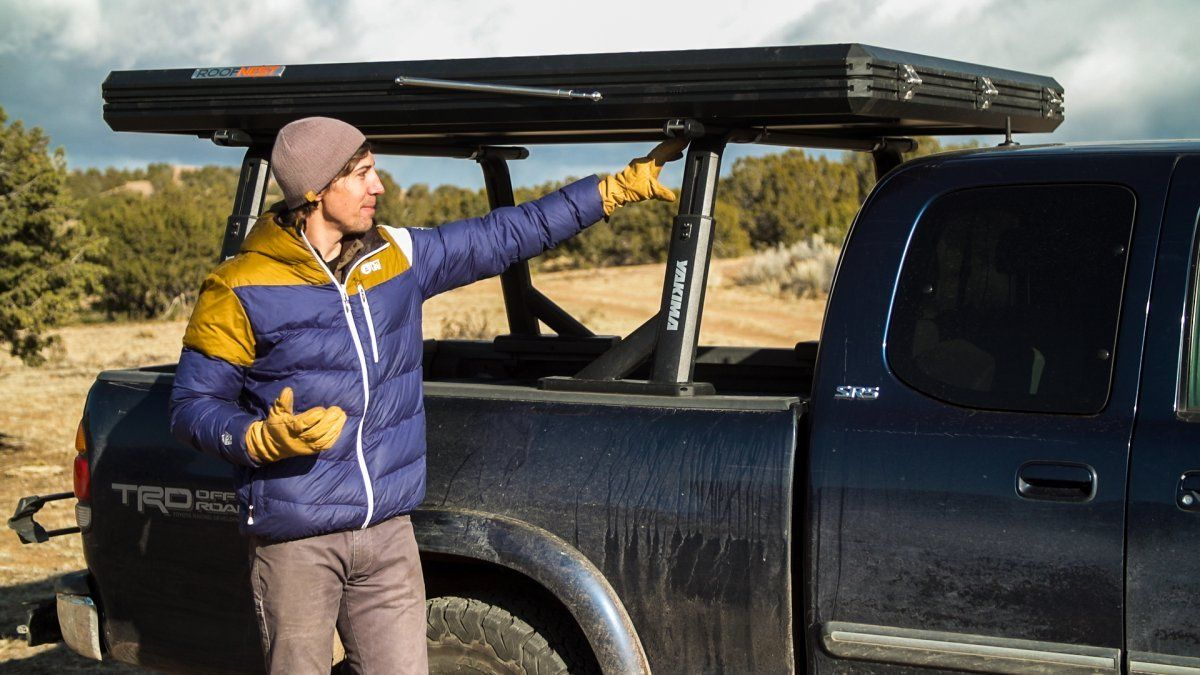 A Roof Rack Alternative for Your Pickup Outside Online