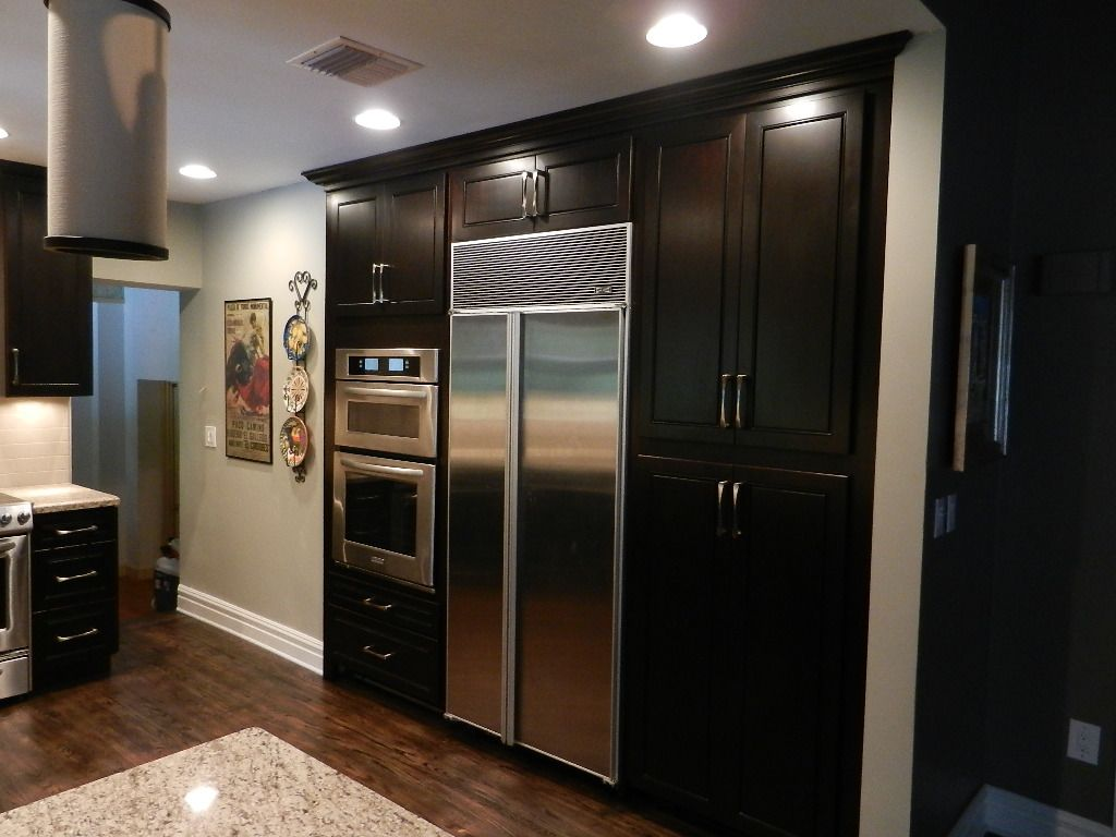 Pin By Superior Kitchens And More On Espresso Kitchens Espresso Kitchen Cabinets Espresso Cabinets Kitchen Cabinets And Granite