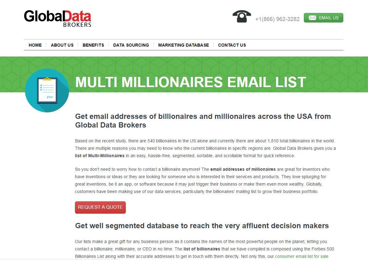 Website: http://www globaldatabrokers com/consumer-data/multi