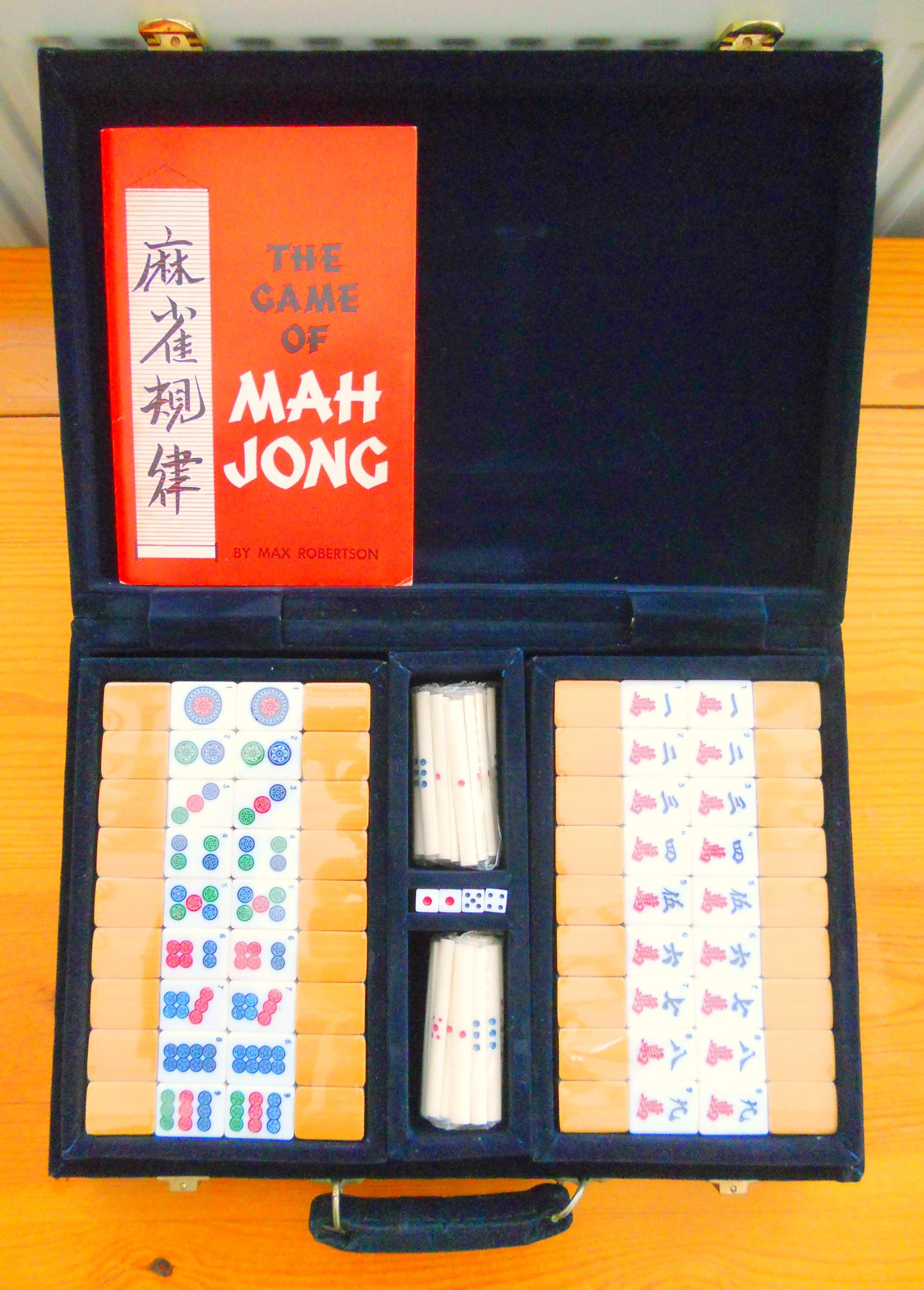VINTAGE MAHJONG SET ~ SOLD ON MY EBAY SITE LUBBYDOT1