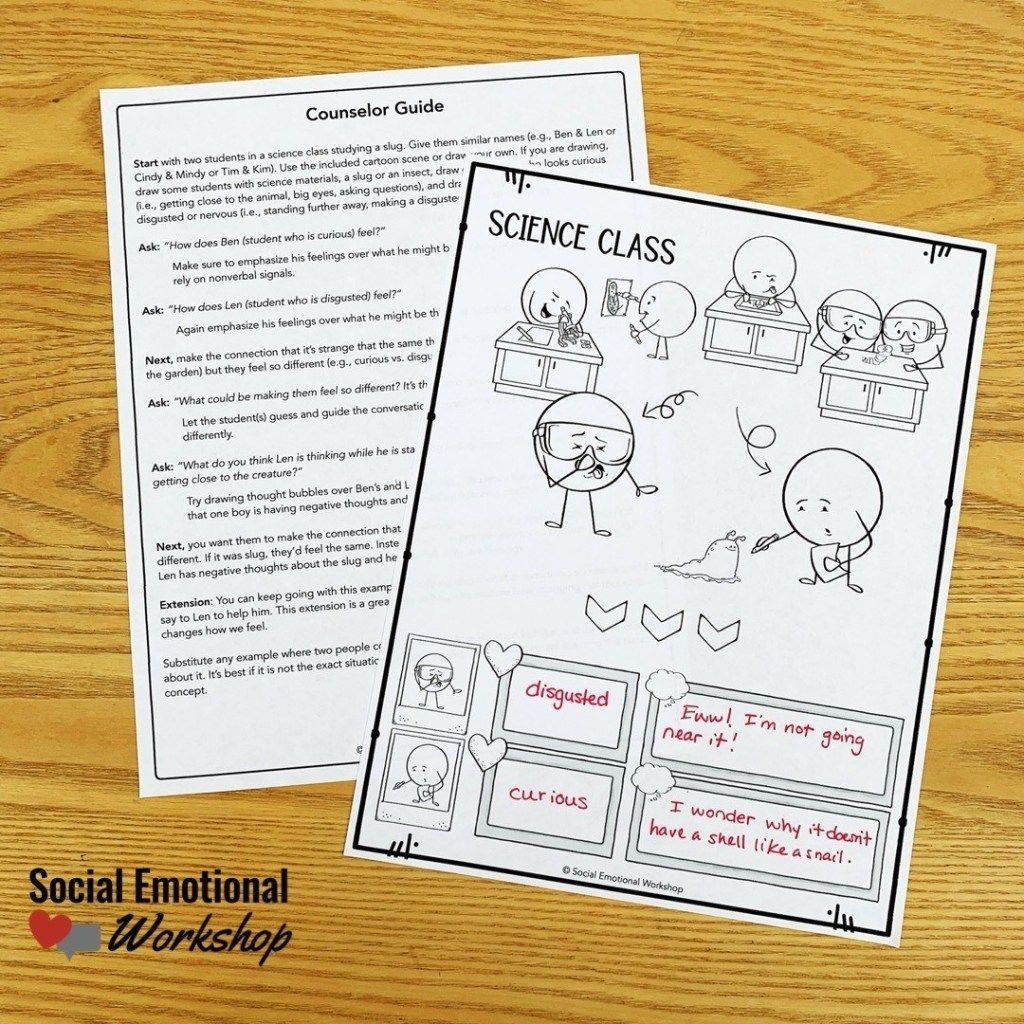 Cbt Activities For Kids How To Explain Thoughts And