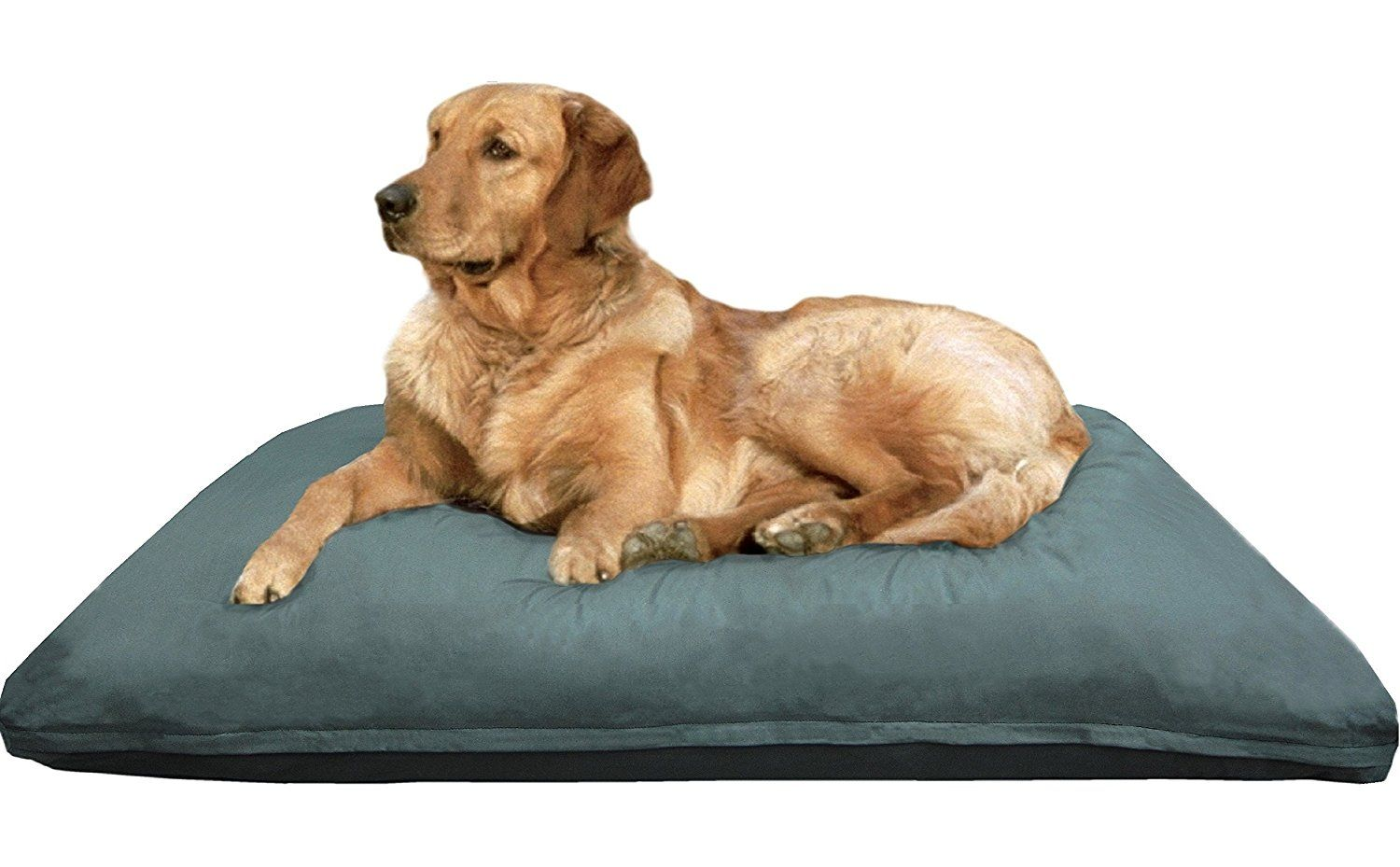 Extra Large Memory Foam Dog Bed Pillow With Orthopedic Comfort
