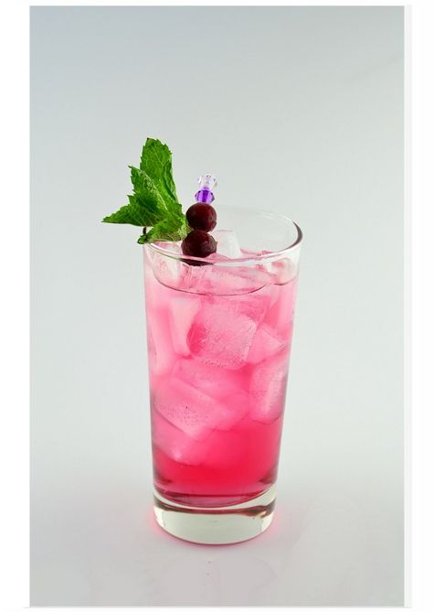 LYCHEE BREEZE - The Asian version of the popular Sea Breeze. This is the easy breezy cocktail.