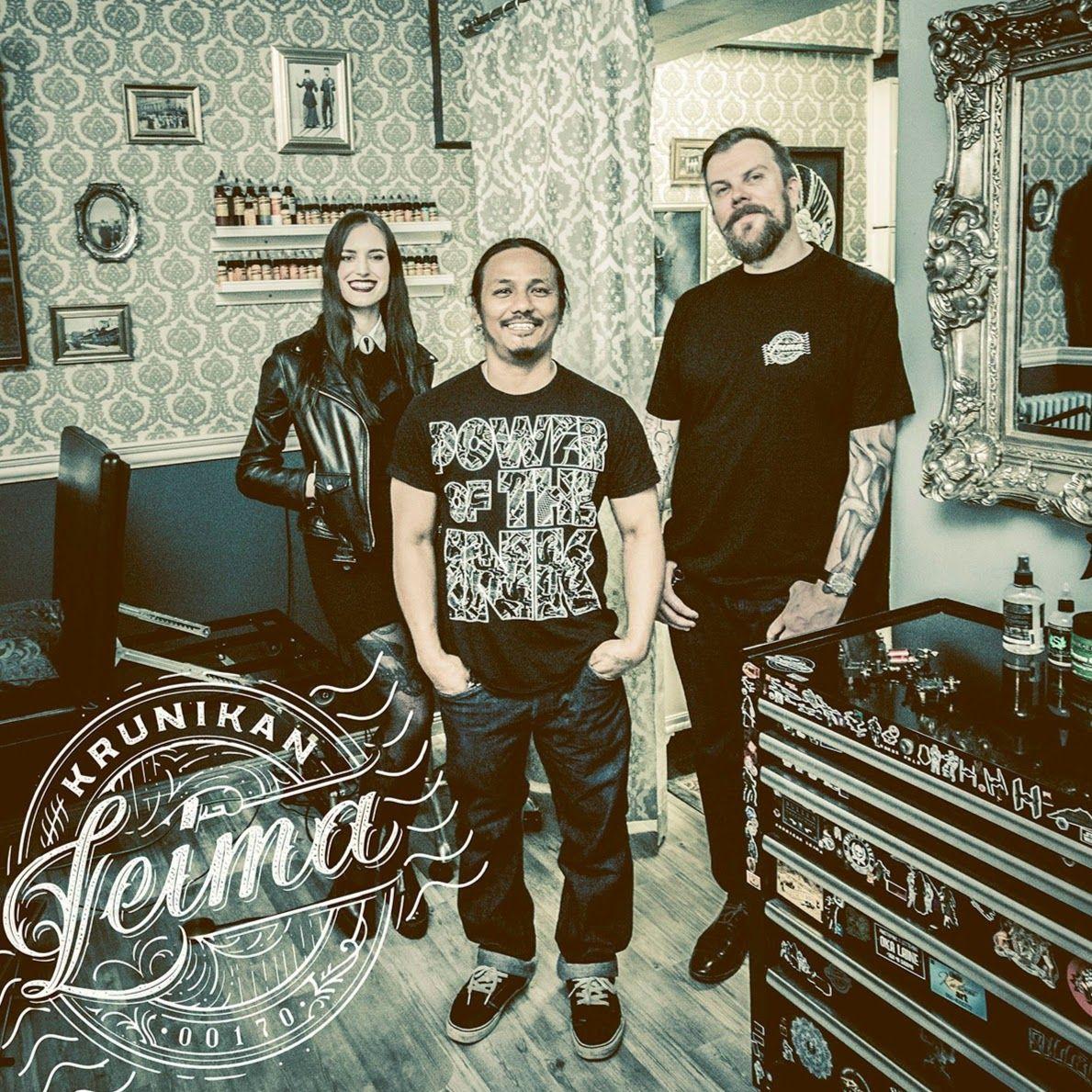 Krunikan Leima on viihtyisä tatuointiliike Helsingin sydämessä, Kruununhaassa. Tatuoinnit toteuttavat blackwork-artistimme Elisabet Waris, thaimaalainen Parn Zanco, sekä pajan omistaja Ilari Musta.