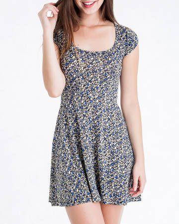 11e07de94 BadCat - Vestido Floral