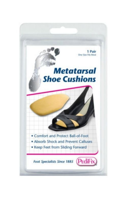 4c4f27f7a5 Metatarsal Shoe Cushions comfort and protect the ball-of-foot - Absorbs  Pressure #Pedifix