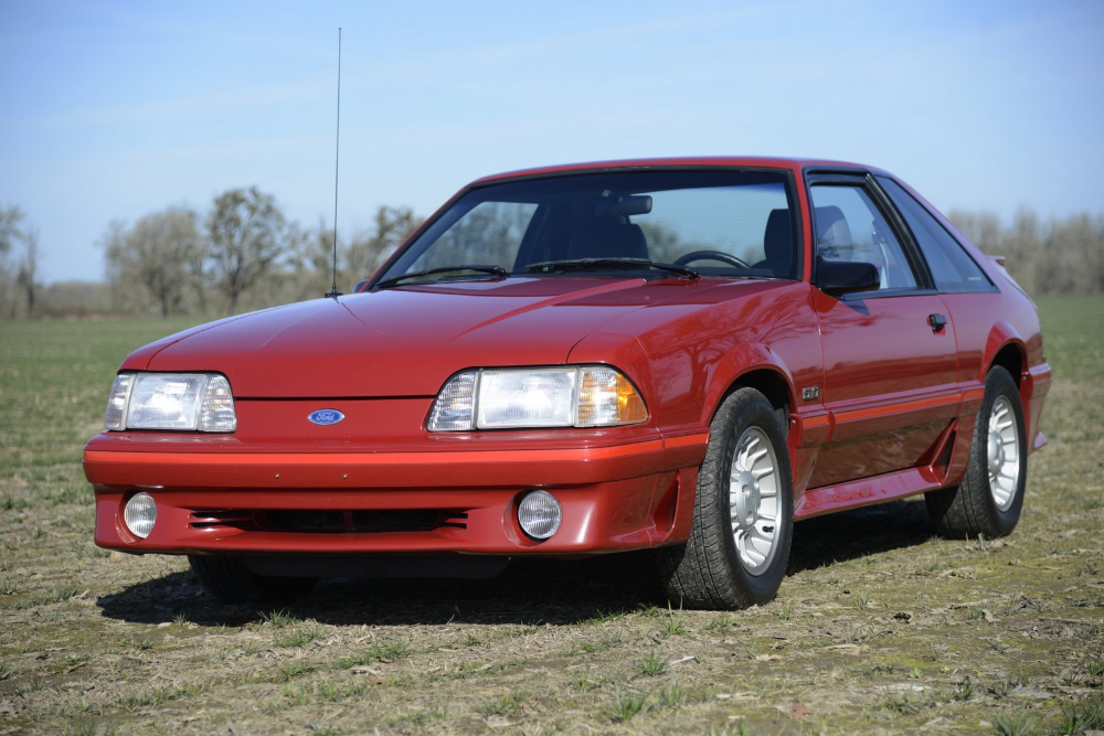 No Reserve 1987 Ford Mustang Gt 5 0 5 Speed Ford Mustang Gt Mustang Gt Ford Mustang
