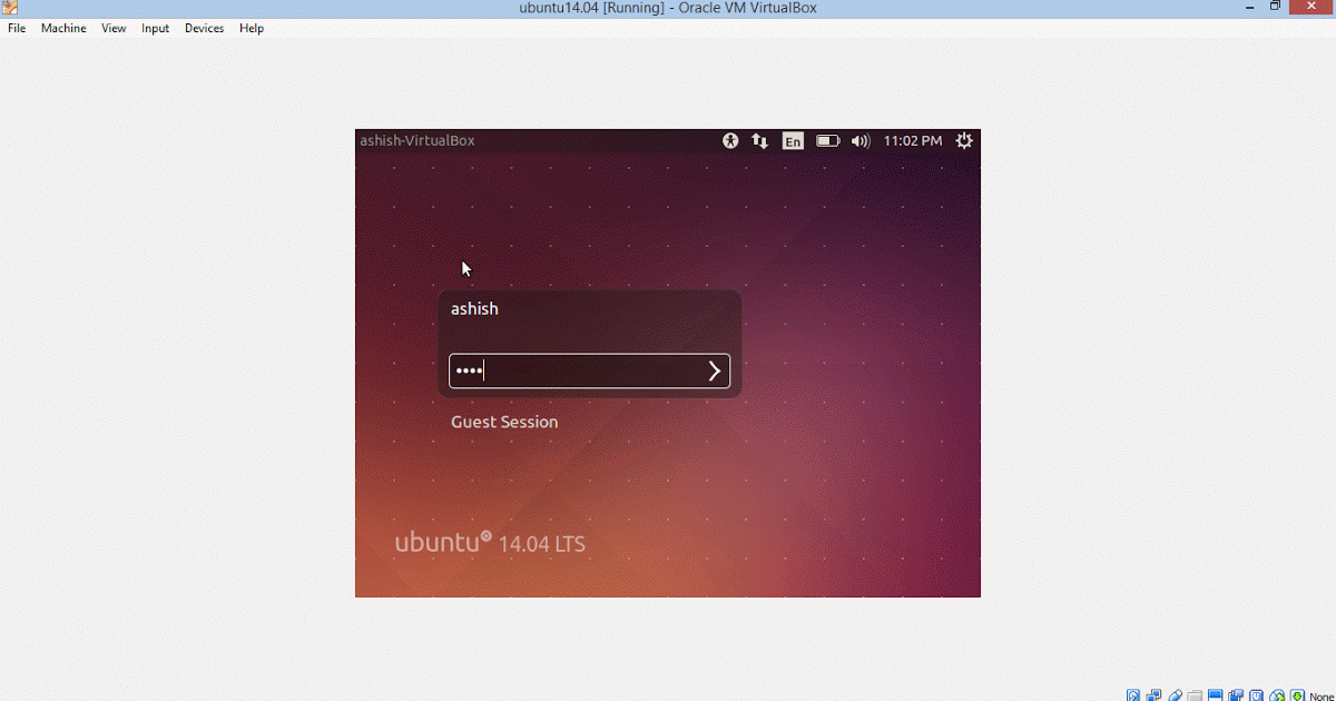 How to get full screen ubuntu in Virtual Box | Keep It Simple Stupid